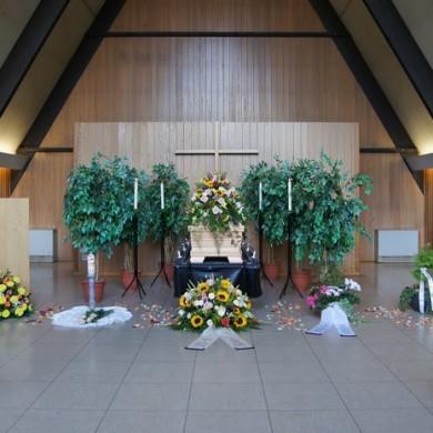 Trauerhalle Friedhof Heisingen, Essen-Heisingen
