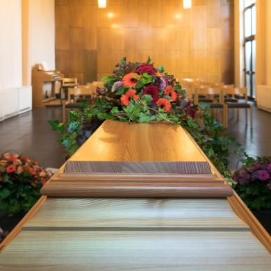 Trauerhalle Friedhof am Hallo, Essen-Stoppenberg