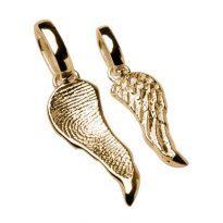 trauerschmuck-Fingerprint-fingerabdruck-Halskette-Anhaenger-fluegel-wings-gelbgold