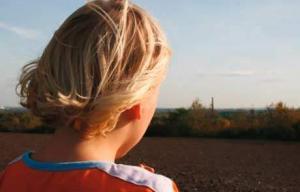 Aufnahme eines Kindes der Kindernotaufnahme Spatzennest in Essen